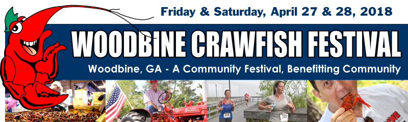 Woodbine Crawfish Festival Header Image